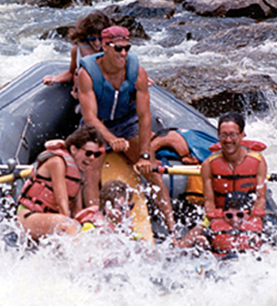 Whitewater rafting Charles Fleisher the opportunities guy